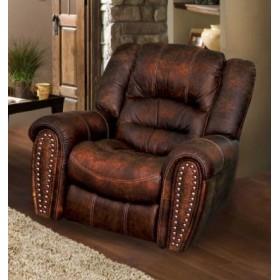 Кожаное кресло Tirol раскладное с реклайнером, 108*100*103, Голландский дом