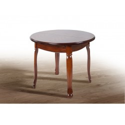Стол обеденный Гаити круглый, 900(+300)х900, Микс-Мебель