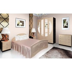 Спальня «Омега» вудлайн белый, Модерн