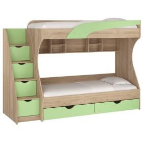 Детская кровать двухспальная  Кадет, Пехотин