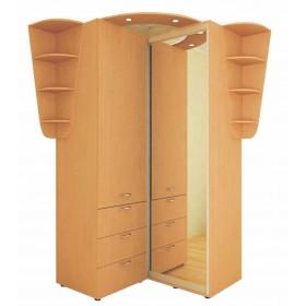 Угловой шкаф-купе 1.25 м, Феникс