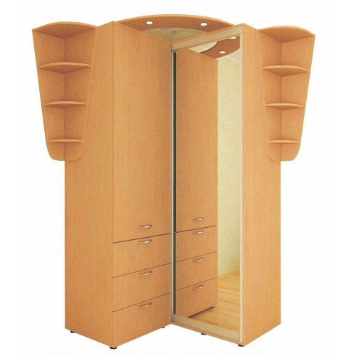 Угловой шкаф-купе 1.25 м, Феникс, фото 1