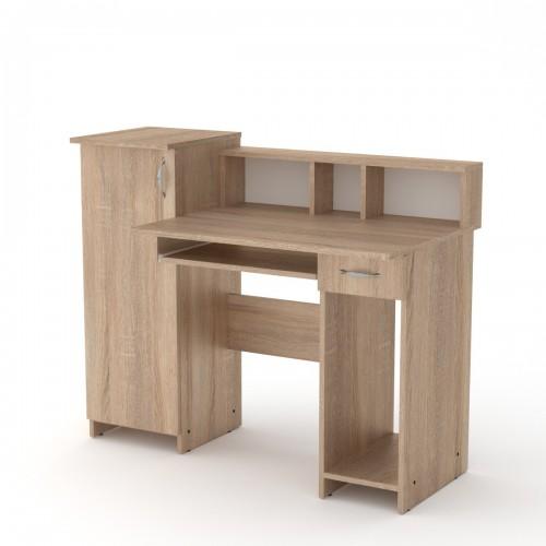 Стол компьютерный  Пи-Пи  2, Кромка 2 мм ABC, Компанит, фото 1