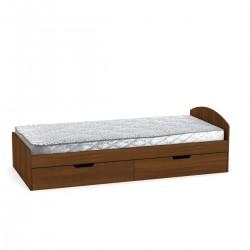 Кровать 90+2 с ящиками, Компанит
