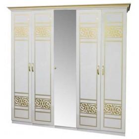 Шкаф 5ДЗ Полина Нова 1 зеркало, Світ Меблів