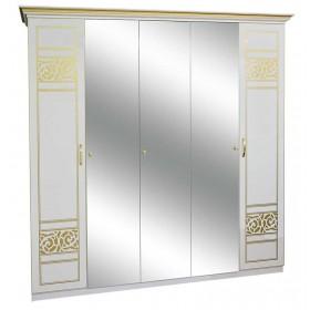 Шкаф 5ДЗ Полина Нова 3 зеркала, Світ Меблів