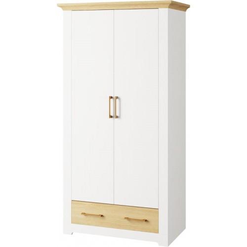 Шкаф 2Д 1Ш Валерио, Світ Меблів, фото 1