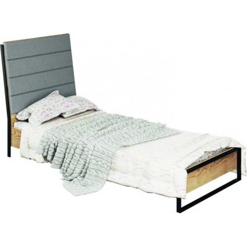 Кровать с наклонной спинкой Лофт, Світ Меблів, фото 1