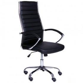 Кресло Джет HB (XH-637) черный, AMF