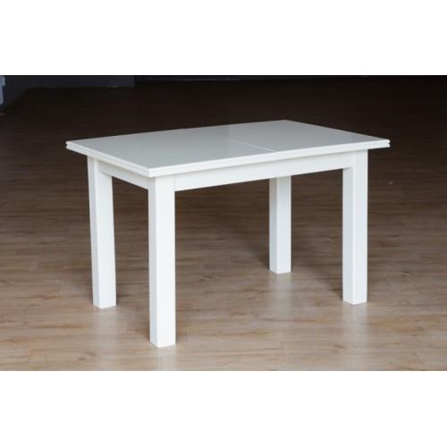 Стол Петрос (слоновая кость, белый) раскладной обеденный 1200(+400)*800, Микс-Мебель, фото 1