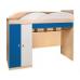 Кровать-горка  Гуливер белый глянец/красная белая/синяя, Модерн, фото 2