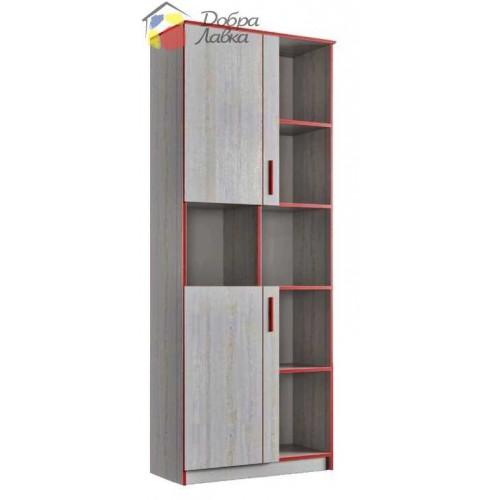 Шкаф книжный 800 Рио 2Д, Феникс, фото 1