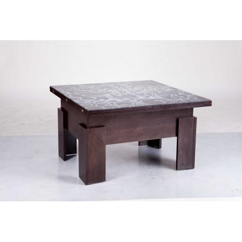 Стол-трансформер Дельта (стекло), Микс Мебель, фото 1