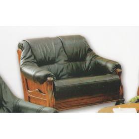 Кожаный диван двухместный 3080, Голландский дом
