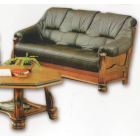 Кожаный диван трехместный 3080, Голландский дом