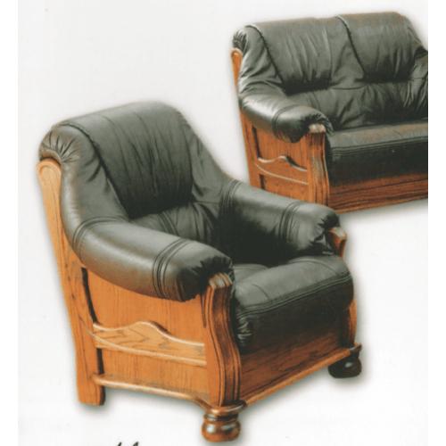 Кожаное кресло 3080, 98*94*98, Голландский дом, фото 1
