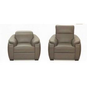 Кожаное кресло Jared раскладное с реклайнером, 109*108*101, Голландский дом