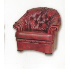 Кожаное кресло Monako, 100*101*99, Голландский дом