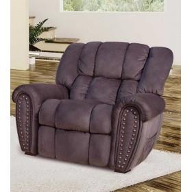 Кожаное кресло Tirol-light раскладное с реклайнером, 108*103*103, Голландский дом