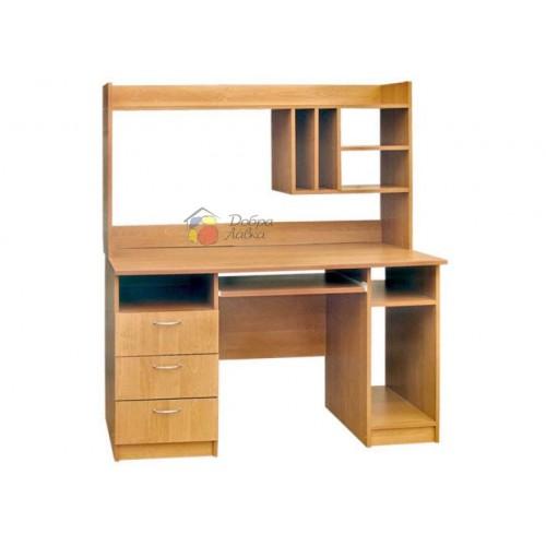 Стол компьютерный Оcкар с надстройкой, Пехотин, фото 1