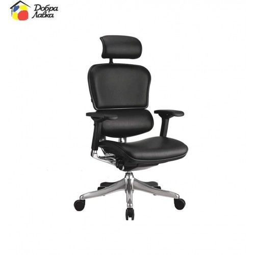Кресло компьютерное Ergohuman PLUS C.S. Group. (натуральная кожа), фото 1