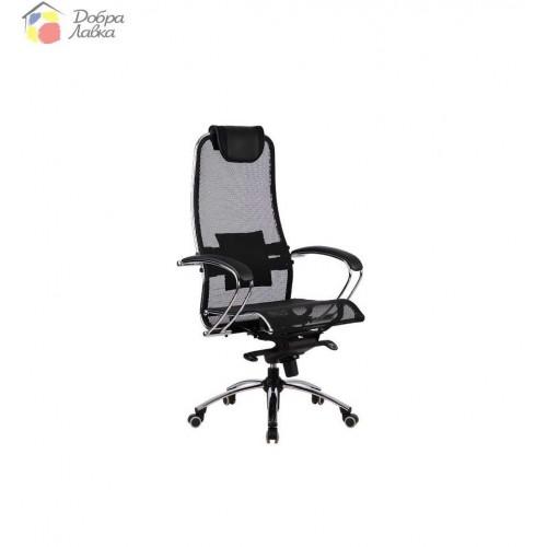 Кресло для руководителя Samurai S1 Blue METTA, фото 1