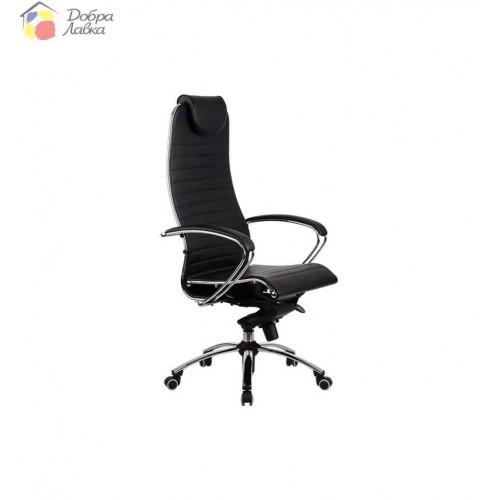 Кресло для руководителя Samurai K1 BLACK METTA, фото 1