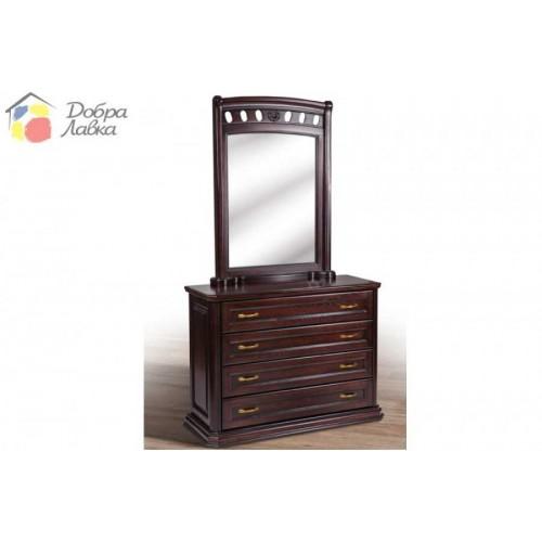 Комод Флоренция (МАССИВ ДУБА), без зеркала, 1200х450х900, Микс-Мебель, фото 1