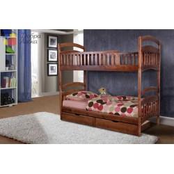 Кровать Кира (двухъярусная), 800*2000, Микс-Мебель
