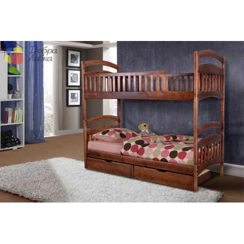 Кровать Кира (двухъярусная), 800*2000, Микс-Мебель, фото 1