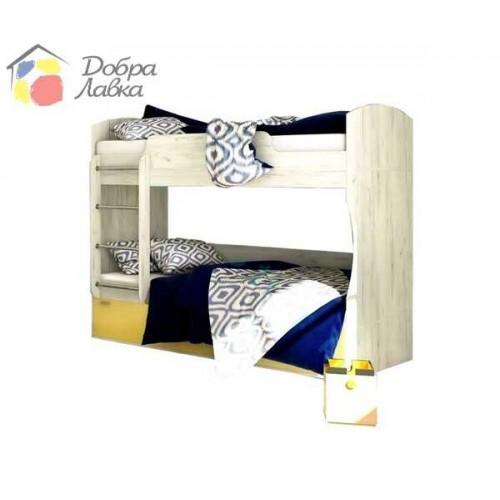 Кровать двухъярусная Домино, Сокме, фото 1