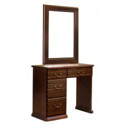 Туалетный стол однотумбовый Адель, Елисеевская мебель