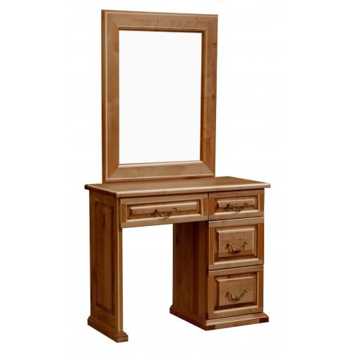 Туалетный стол однотумбовый филенка, Елисеевская мебель, фото 1