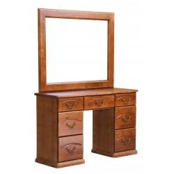Туалетный стол двухтумбовый Ассоль, Елисеевская мебель