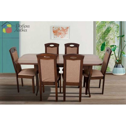 Стол обеденный Мартин, 1300(+400)*780, Микс-Мебель, фото 1