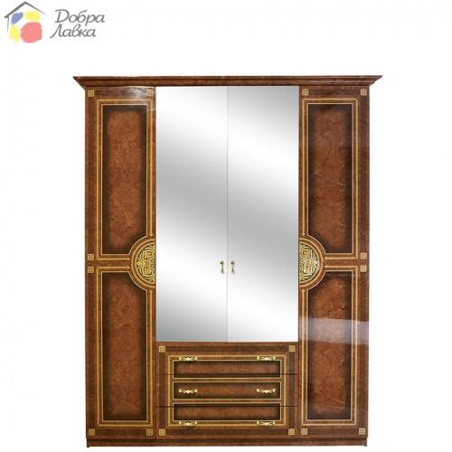 Шкаф 4Д Диана, Світ Меблів, фото 1