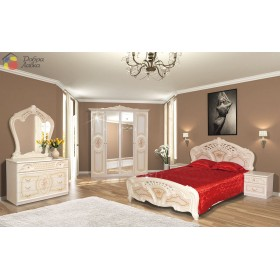 Спальня 4Д Кармен новая, Світ Меблів