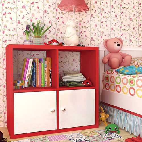 Модуль Домино цветное D6 красный, Vip-Master, фото 1