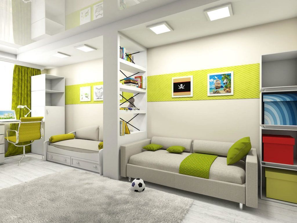Детские комнаты , фото2