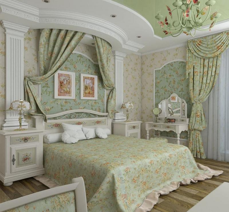 Спальни в стиле Прованс, фото1