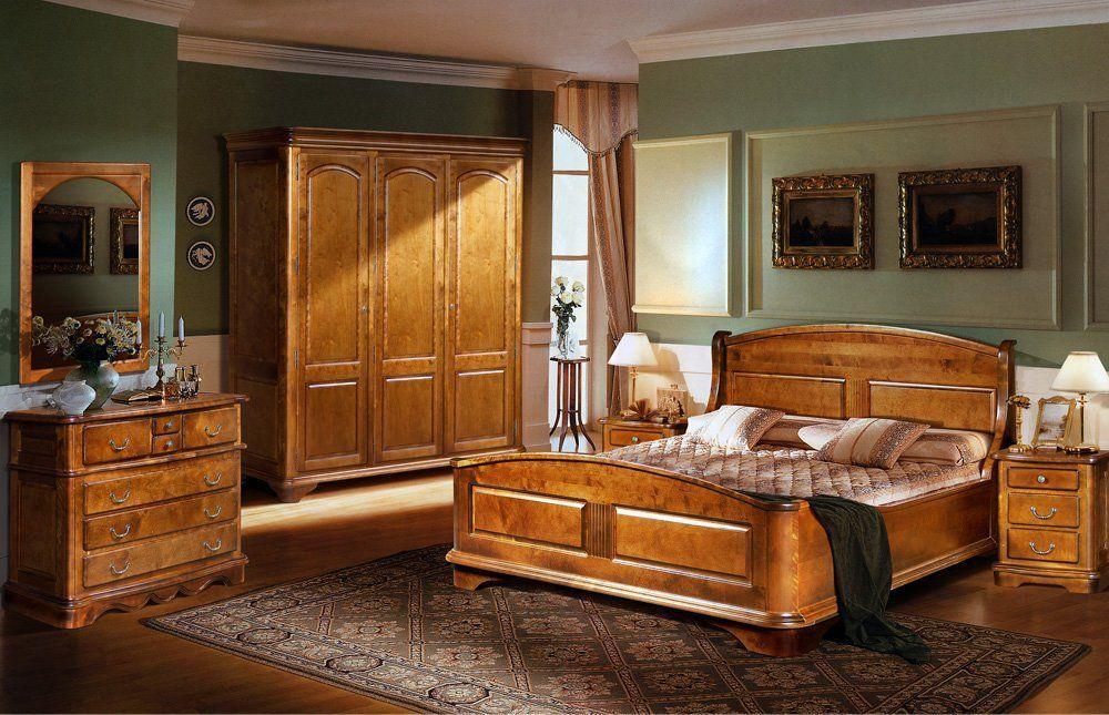 Спальные гарнитуры из натурального дерева, фото2