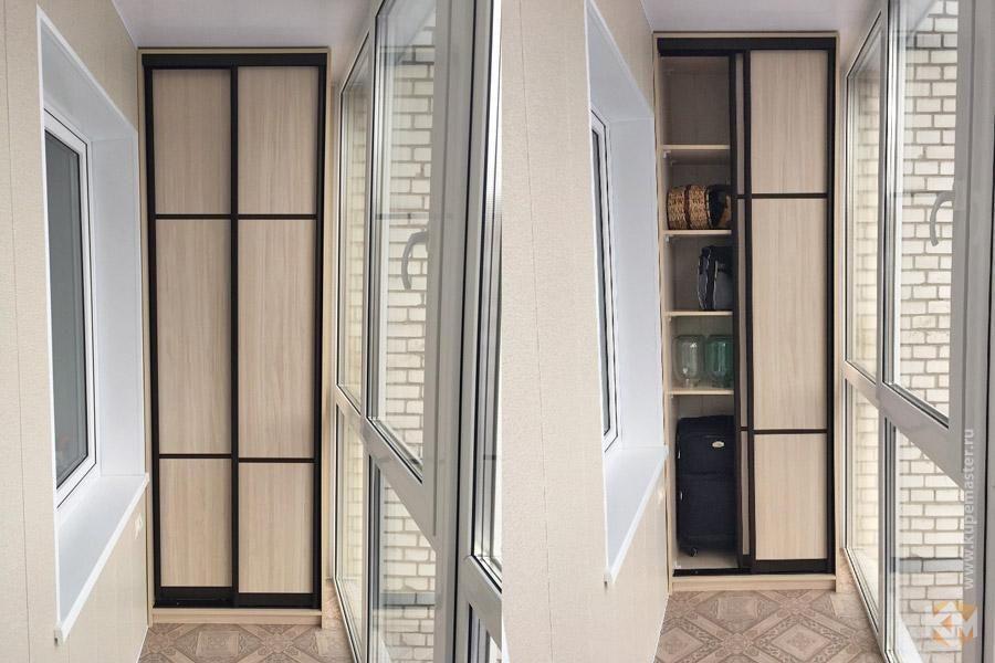 Шкафы-купе на балкон, фото1