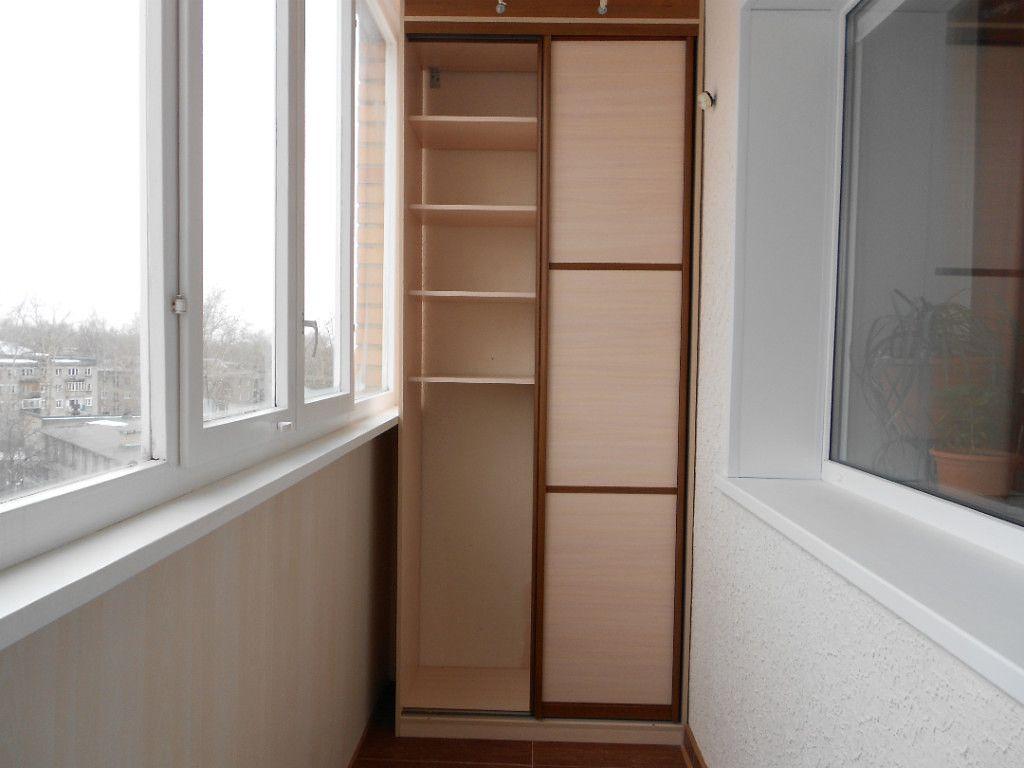 Шкафы-купе на балкон, фото2