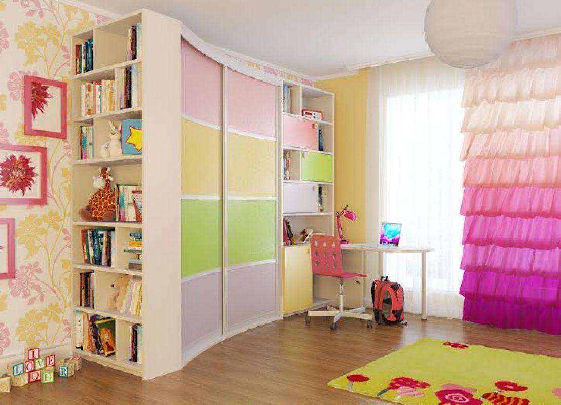 Шкафы-купе в детскую комнату, фото1