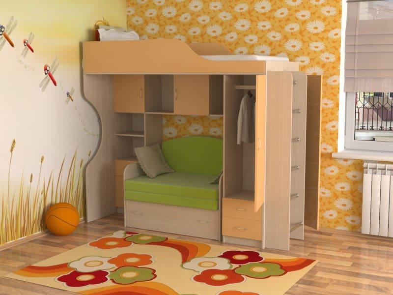 Кровати-чердаки, фото2