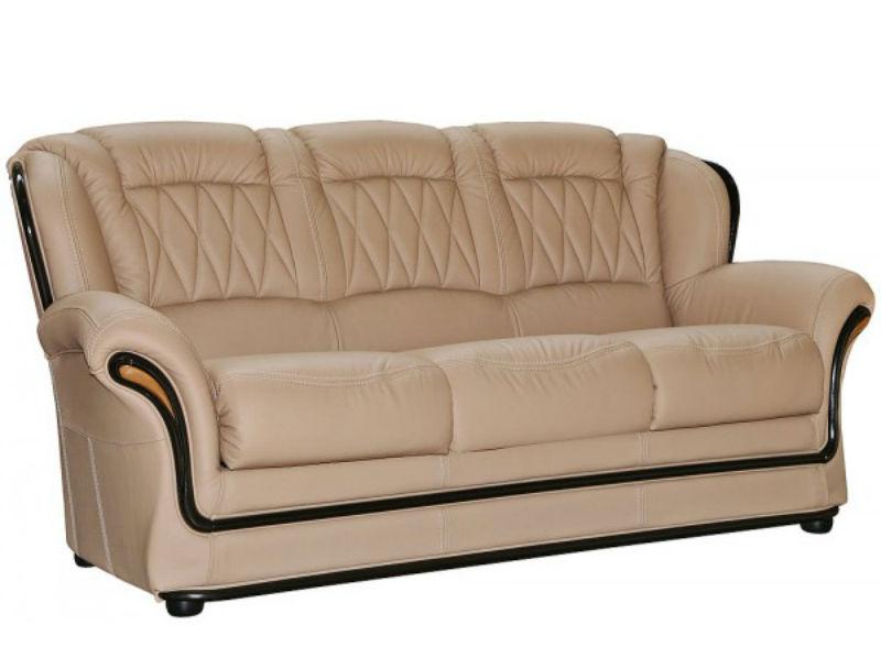 Кожанный диван, фото1
