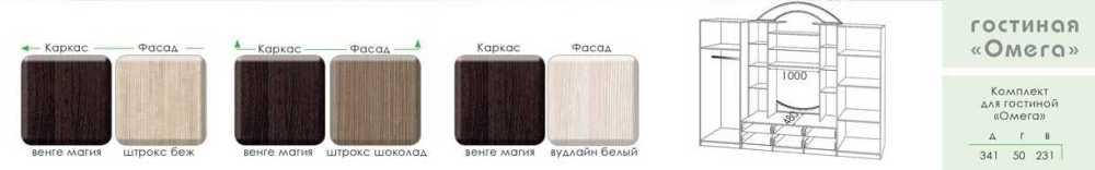 Стенка Омега МДФ, Модерн, фото 4
